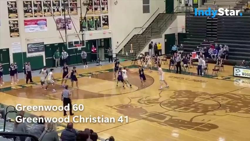 Indiana High School Basketball Highlights: Greenwood 60, Green Christian 41