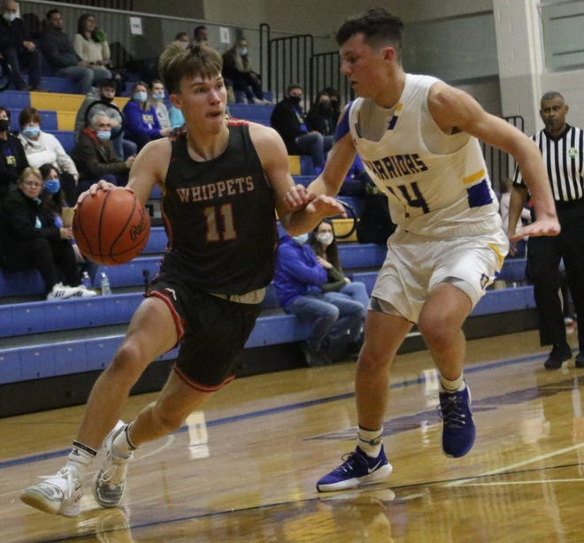 Shelby's Cody Lantz has the Whippets at No. 1 in the Richland County Boys Basketball Power Poll.