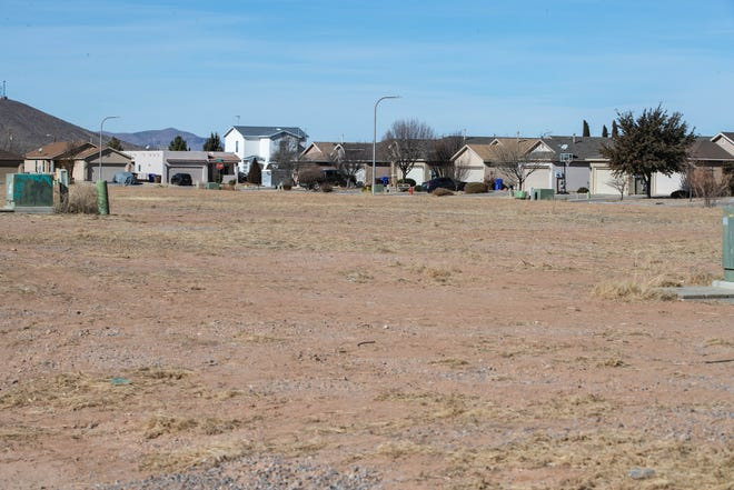 The Rincon Mesa neighborhood in Las Cruces. A new park is set to be built nearby which will benefit the area. Photo pictured on Friday, Jan. 15, 2021.