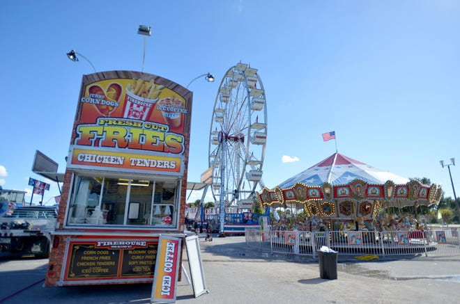 The 2020 iteration of the carnival is at the Lake Square Mall through Sunday.