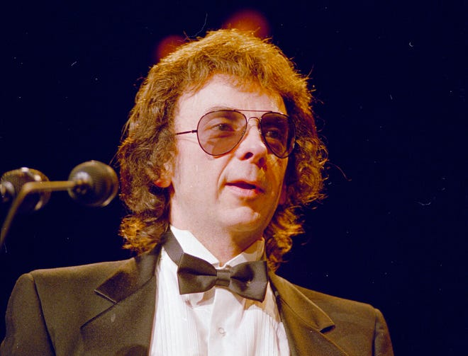 Record producer Phil Spector is seen in 1989. [AP Photo, File]