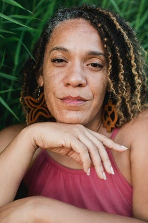 """Ayisha Elliot, 43, is the podcast host of """"Black Girl From Eugene,"""" a show tracing race relations from the perspective of a Black woman from the Pacific Northwest."""