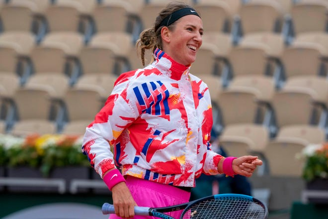 Two-time Australian Open champion Victoria Azarenka is in hard quarantine after three positive tests were returned from a charter flight she was on that arrived from Los Angeles .