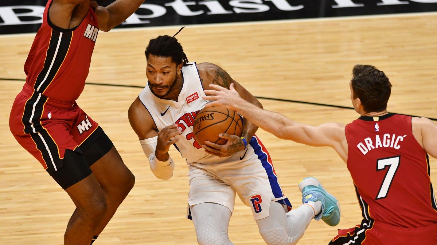 Game recap: Detroit Pistons can't sweep Miami Heat despite hot start, 113-107