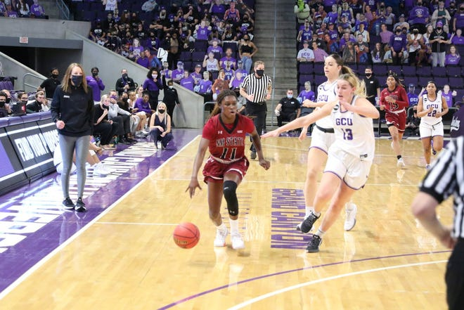 New Mexico State's women's basketball will remain paused after multiple COVID-19 positive tests.