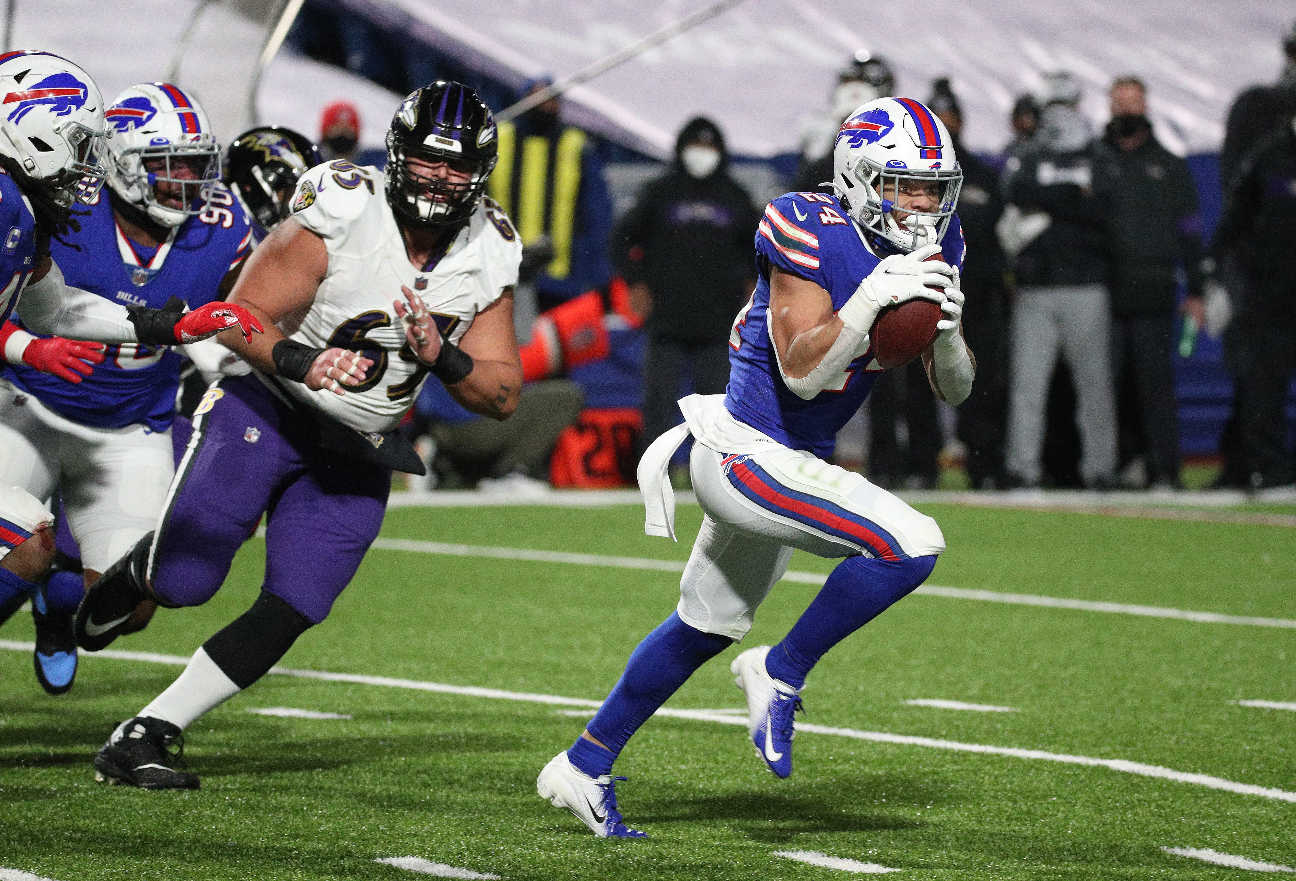 Report card: Taron Johnson makes one of biggest plays in Bills history