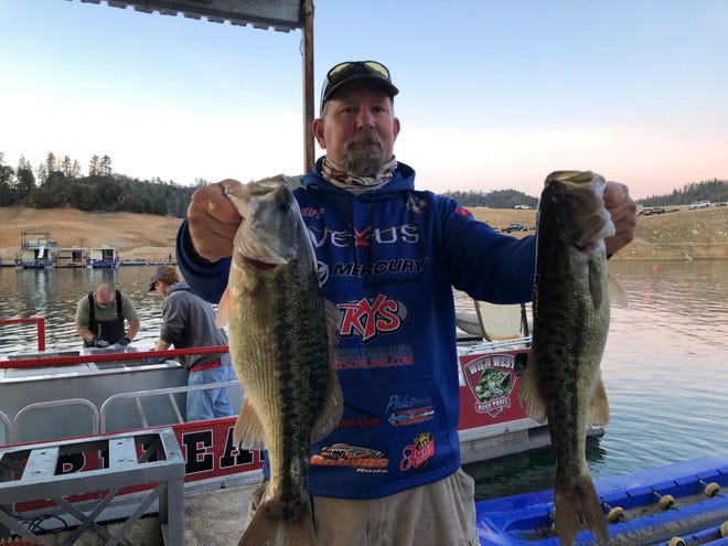 Shasta County local Jeff Michels of Lakehead won the 2021 Wild West Bass Pro-Am tournament at Lake Shasta on Jan. 16, 2021.
