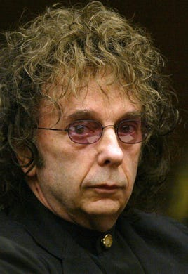 """<a href=""""https://www.usatoday.com/story/entertainment/music/2021/01/17/phil-spector-music-producer-and-murderer-dies-81/4197140001/"""" rel=""""noopener"""" target=""""_blank"""">Phil Spector</a>, the eccentric and revolutionary music producer who transformed rock music with his &ldquo;Wall of Sound&rdquo; method and who later was convicted of murder, died Jan. 16. He was 81."""