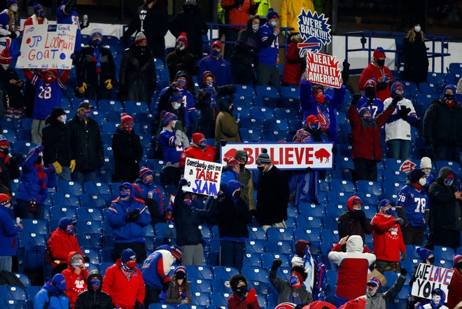 Bills fans now get to cheer for one more victory that will get their team to the Super Bowl for the first time since after the 1993 season.