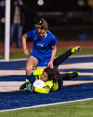 Kaitlynn Melton had seven goals in three matches as Pflugerville's girls soccer team opened the season with three wins in the Bryan-College Station tournament.