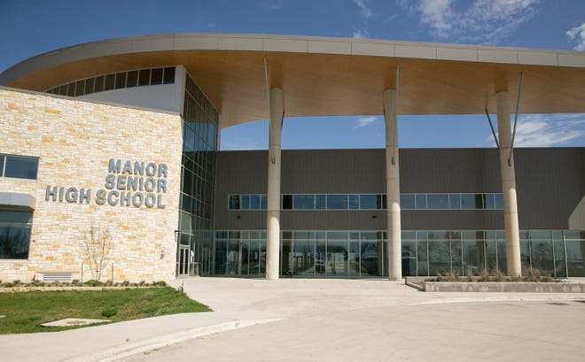 Manor Senior High School is one of two Manor district schools that have switched to virtual learning only because of COVID-19 cases.