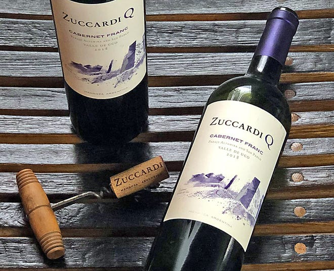 Zuccardi Q is a cabernet franc from Argentina.