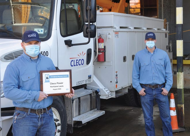 Cleco employees with the ERA.