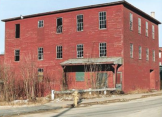 The former Miller's Opera House, which became a warehouse for Conant Ball Co. in Gardner.