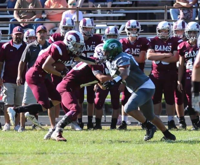 Grafton High School senior and student-athlete Andrew Hanna