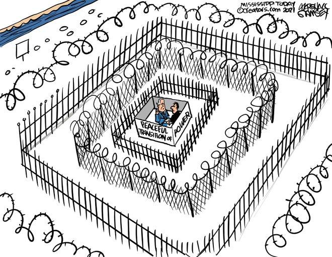 Today's editorial cartoon (Jan. 20, 2021)