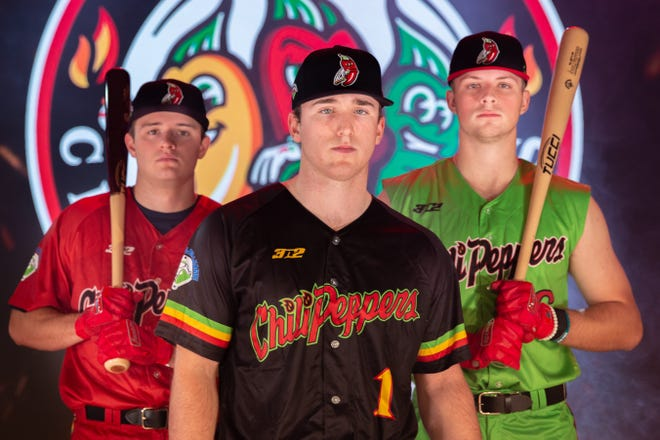 The Tri-City Chili Peppers revealed their inaugural uniforms on Friday, January 15.