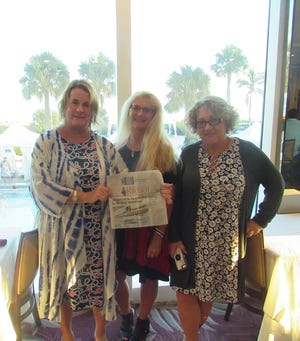 Patricia Johnson, Liz Destefano and Christine Lamkin spent Thanksgiving at the Sundial Resort in Sanibel.