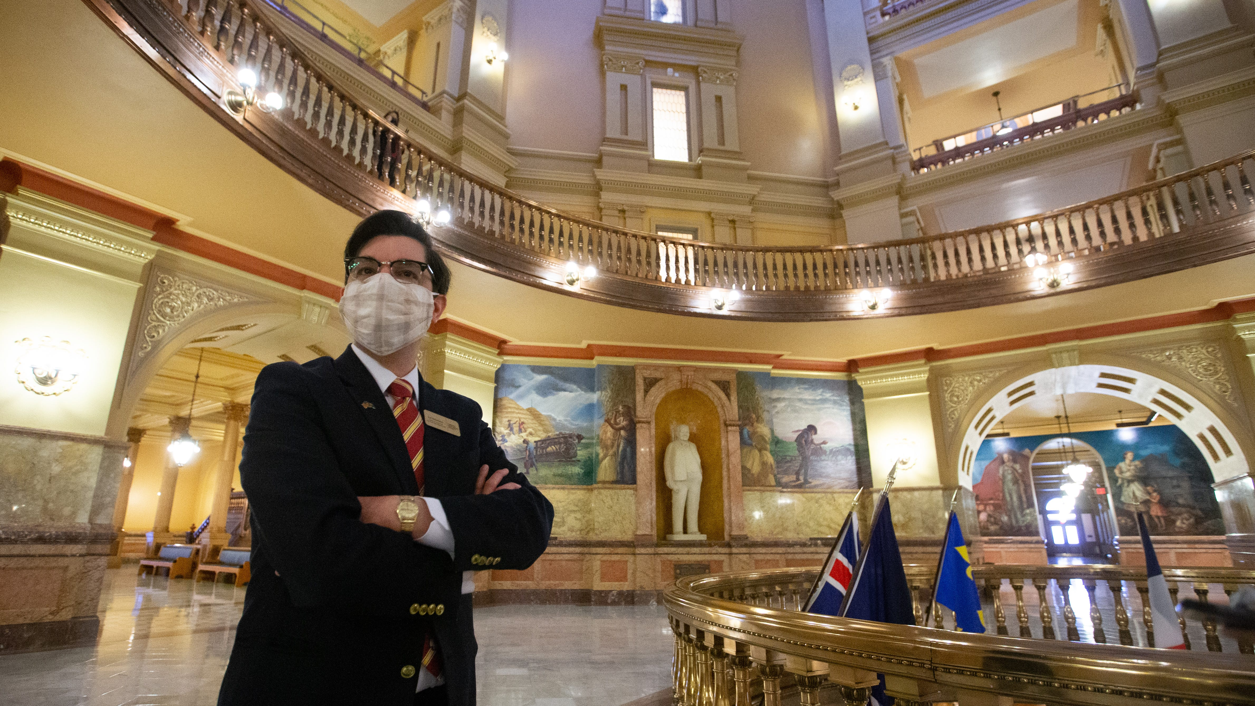 Kansas Statehouse field trips on pause as building closed to public