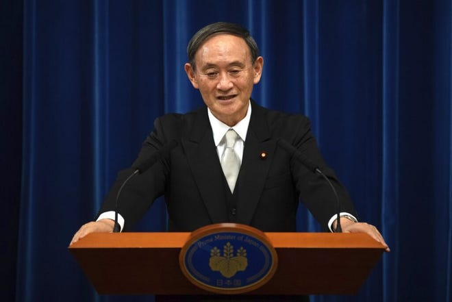 While 80% of the Japanese public think the Olympics will not or should not happen, new Prime Minister Yoshihide Suga wants show to go on.