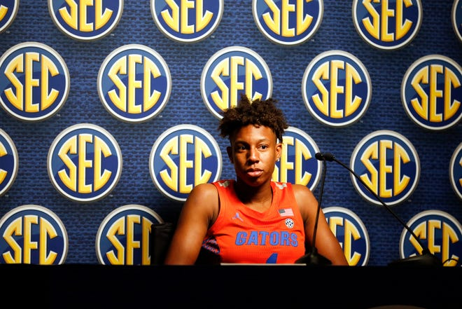 Florida's Kiki Smith notched her third double-double of the season and fourth in her career. Sunday marked the third time this season she has had 20 or more points and 10 or more rebounds in a game.