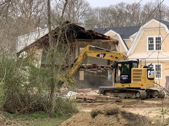 The 1810 Alice Hanvey House on Great Oak Road fell to the bulldozer's blade and was replaced by a large short-term rental facility owned by an out of state corporation.