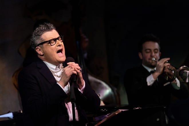 Isaac Mizrahi performs at Cafe Carlyle.