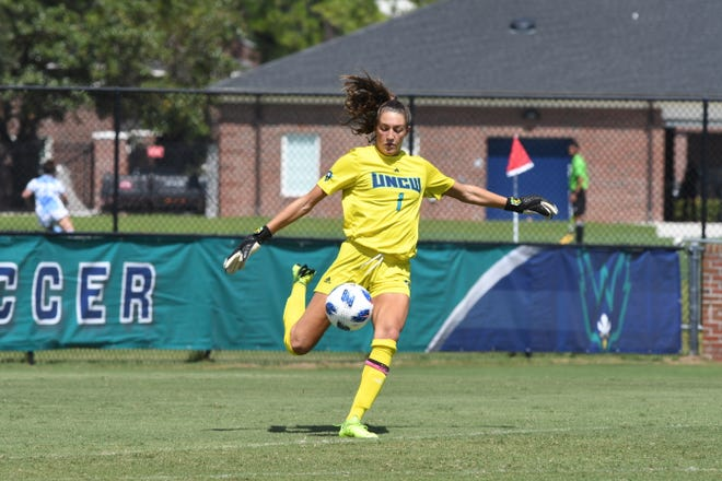 South Brunswick's Sydney Schneider, a goalie for the University of North Carolina Wilmington, was drafted in the 29th round by the Washington Spirit of the National Women's Soccer League.