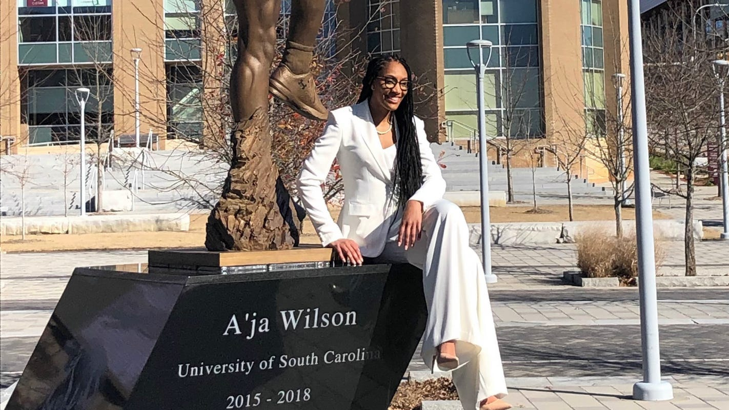 Opinion: Reigning WNBA MVP A'ja Wilson gets statue for work on and off court