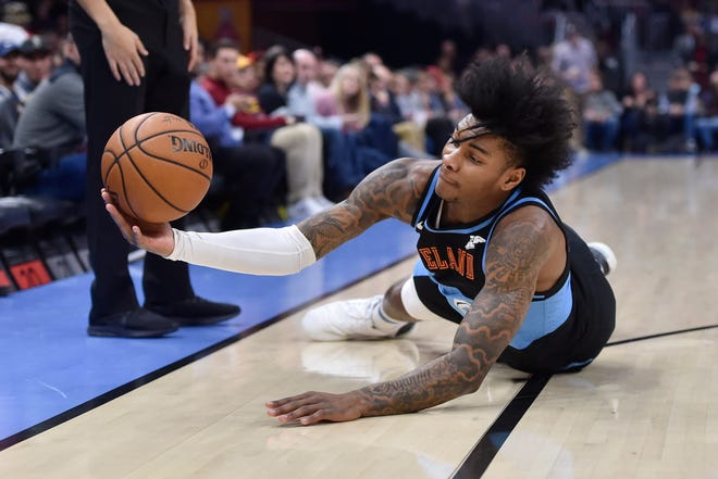The Cavaliers traded guard Kevin Porter Jr. to the Houston Rockets for a protected second-round pick on Thursday night. [USA TODAY Network]