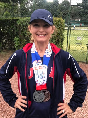 Kristen Patton attended the World Transplant Games in 2019 in the United Kingdom. She had a heart transplant in 2016.