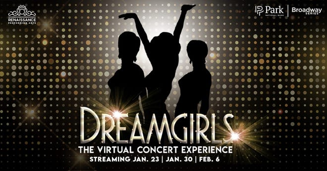 Dreamgirls: The Virtual Concert Experience from the Renaissance Theatre will stream live on Jan. 23 and 30 and Feb. 6.