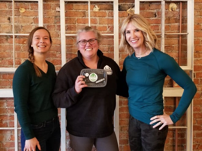 Nevada businesswomen (from left) Jennifer Rogers, Evie Peterson and Jennifer Clem Smith are behind the new healthy eating venture, Farmhouse Fuel.