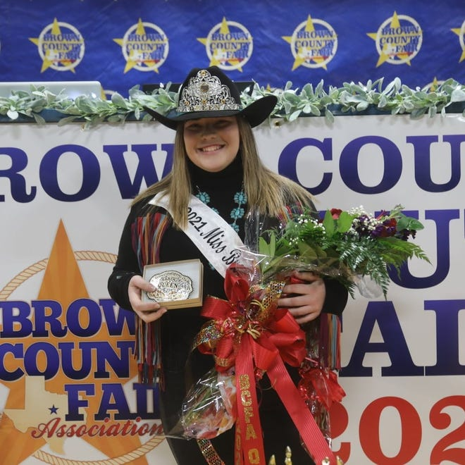 Rylah Morgan is the Brown County Youth Fair queen for 2021.