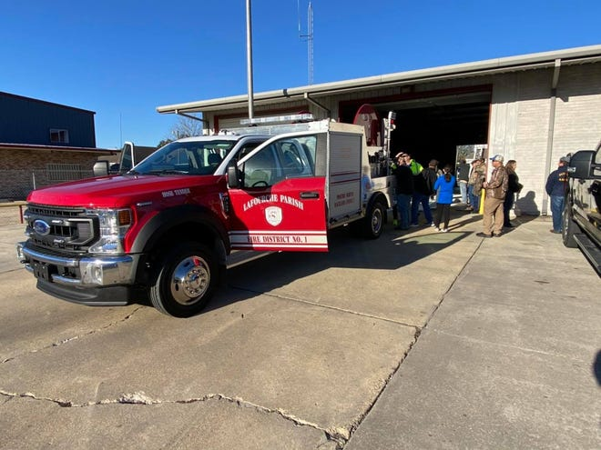 Lafourche Fire District 1 crews conduct a recent training exercise.
