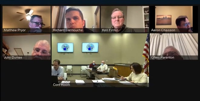 The Ascension Parish Planning Commission met virtually Jan. 13.
