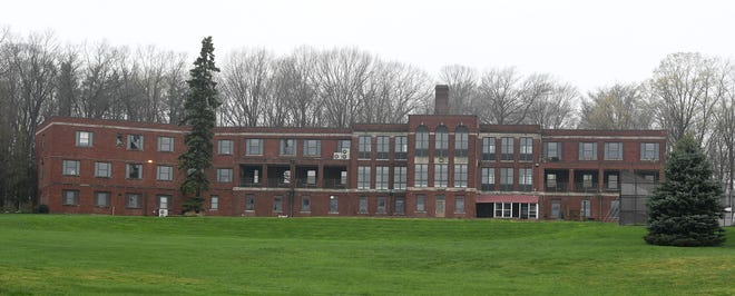The former Pleasant Ridge Manor East, 4728 Lake Pleasant Road in Millcreek Township, is shown on April 26, 2019. The former 76-bed nursing home has been closed since June 2015. A new report from the Bostwick Design Partnership recommends that the county-owned building be demolished.