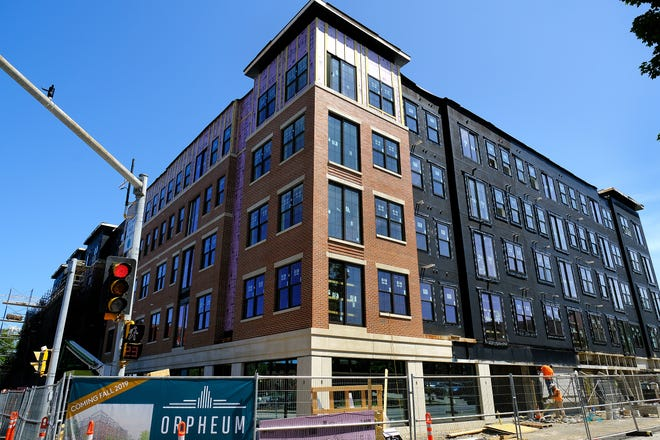 The Orpheum Apartment project in downtown Dover is one that has contributed to the city's housing growth.