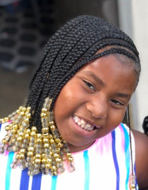 Deaurra Nealy, who was 8, died Saturday.