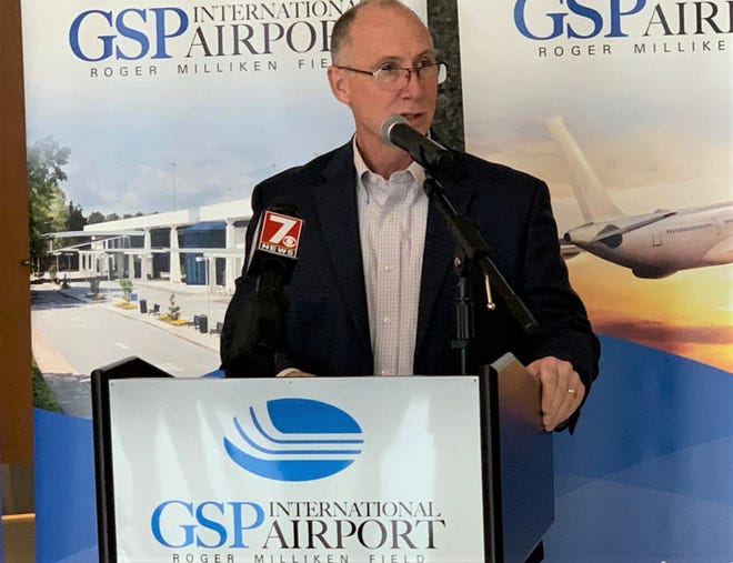 GSP Airport President and CEO Dave Edwards announced Tuesday the addition of nonstop flights to three Florida cities by Silver Airways, starting March 18.