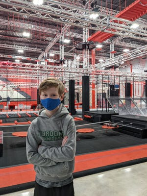 Ender Johnson participated in the Midwest Champions League Qualifier at Adrenaline Monkey near Cleveland. He placed eighth overall and fourth for boys. He also participated on a relay team, which placed third. Ender, a third-grader at Northfield Elementary School, also earned a perfect score in WordMasters, and was named team leader in a math competition.