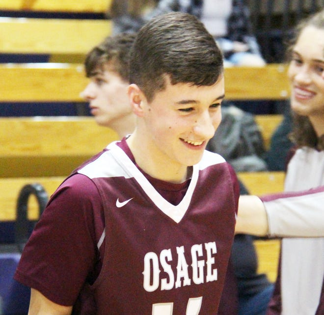 Osage's Grant Steen.