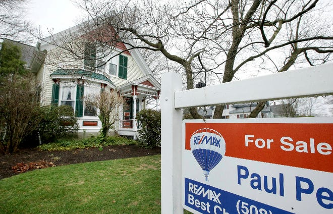 The median sales price for a home sold in Massachusetts last year was $445,500, according to The Warren Group.