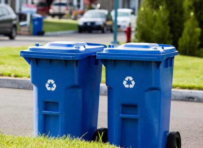 Starting in February, residents will be able to place all recyclables directly into either 95-gallon recycling carts provided to single-family homes or 65-gallon recycling carts provided to townhouses and condominiums.