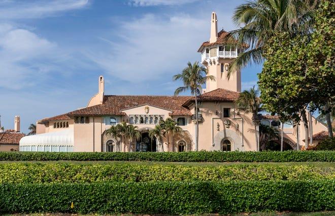 Mar-a-Lago in Palm Beach, Florida on January 18, 2021.