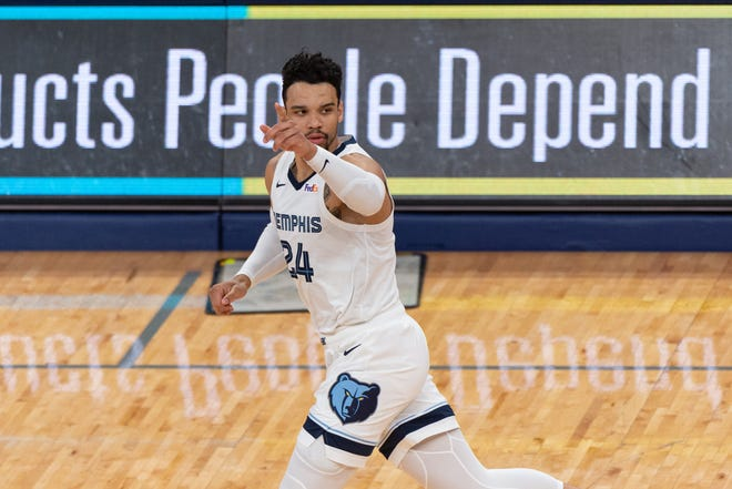 Dillon Brooks and the Memphis Grizzlies were scheduled to play at Portland on Wednesday night but COVID-19 contact tracing has left the Grizzlies without enough players so the game was postponed.