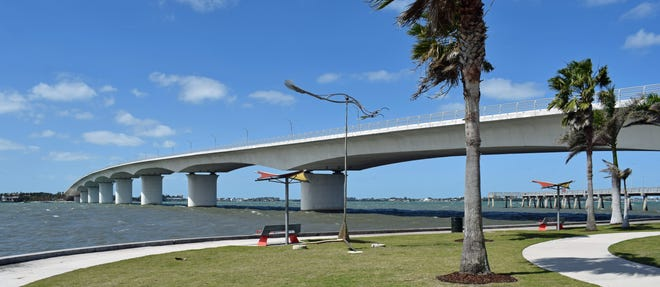 Walking the Ringling Bridge remains a popular and healthy activity during the COVID-19 pandemic.