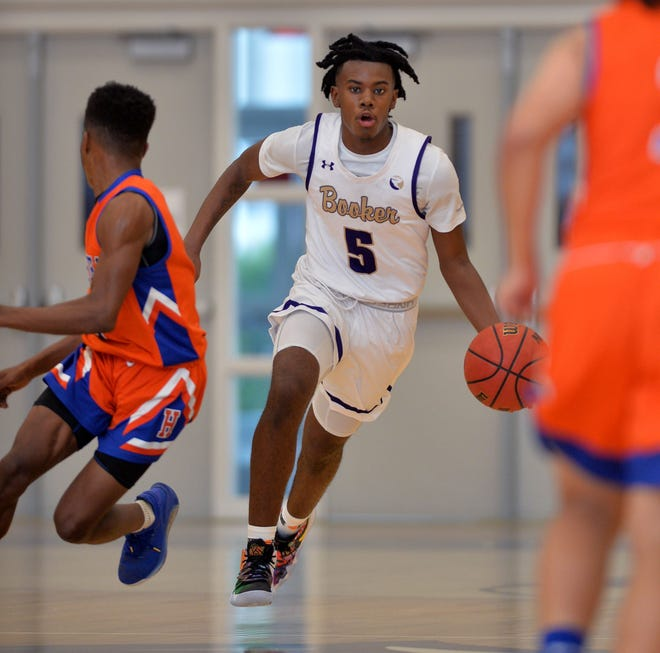 The Booker High boys basketball team behind sharp-shooter Paul Mcleod was a late addition to the Wally Keller Classic, playing Naples Barron Collier at 4 p.m. Friday at Charlotte High School in Punta Gorda. The game was a late scratch because of COVID-19 concerns with Barron Collier.