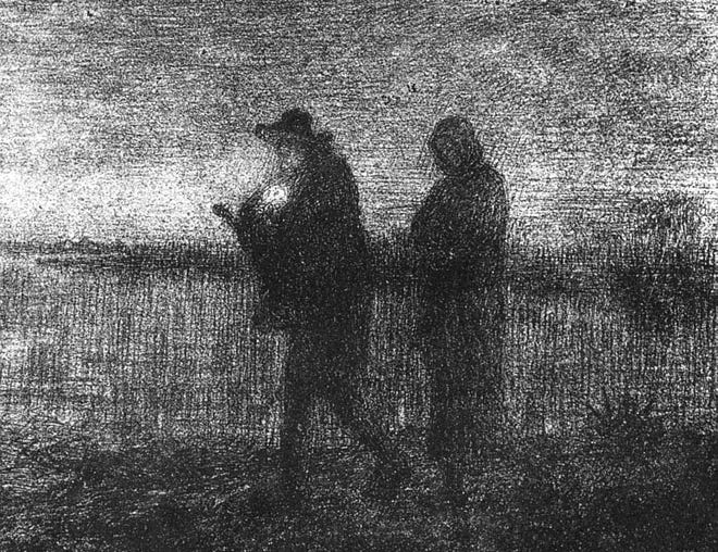 'The flight into Egypt' by Jean-Francois Millet