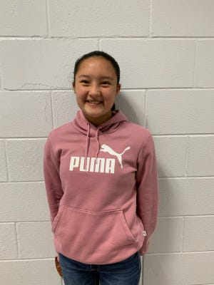 Liliana Rubio Avalos of South Brunswick Middle School is Brunswick County Schools' Student of the Week.